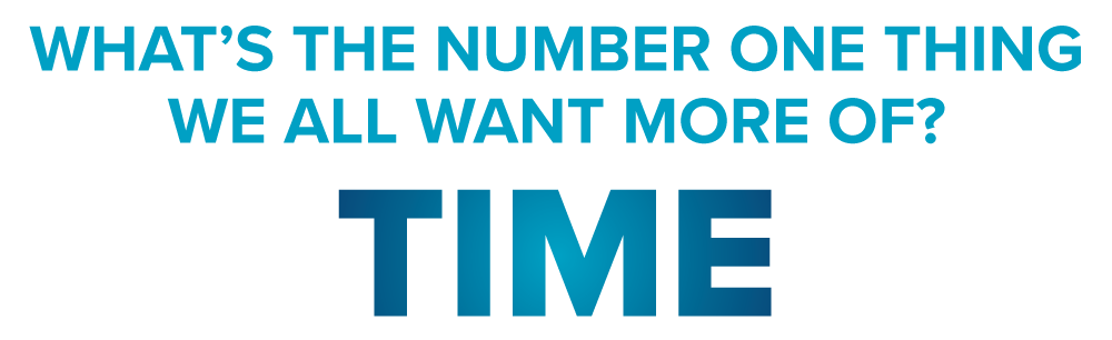 What's The Number One Thing We All Want More Of?  TIME